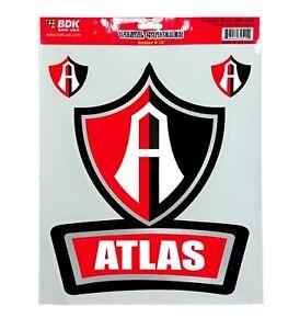 Club Atlas Mexico Vinyl Sticker Decal Calcomania Guadalajara Rojinegros Zorros