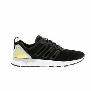32450604c Mens Adidas ZX Flux ADV Black Gold White AQ4508 Various UK Sizes