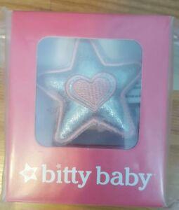 American Girl  BITTY BABY STAR PILLOW NEW