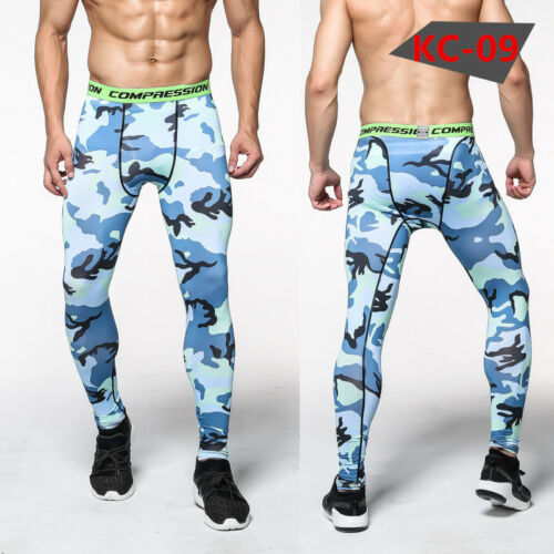 Mens Athletic Compression Pants Long Atheltic Base Layers Gym Sportswear Dri fit