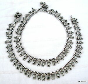 Jewelry & Watches Vintage Ethnic White Metal Hollow Anklet Feet Bracelet Tribal Jewelery Fashion Jewelry