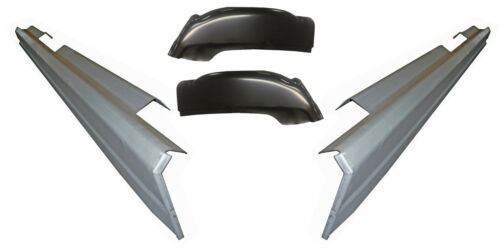 2001-2006 CHEVY SILVERADO SIERRA  4DR CREW CAB ROCKER PANELS AND CAB CORNERS KIT
