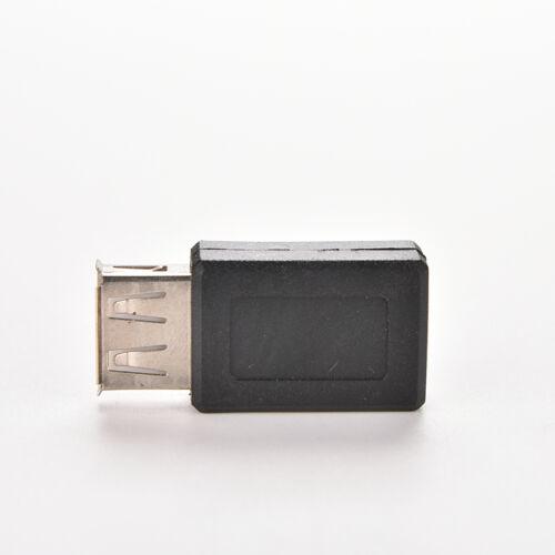 USB 2.0 Type A Female to Micro USB B Female Adapter Plug  Converter Fad CA