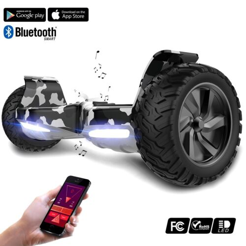 "Evercross 8.5/"" Hoverboard SUV Bluetooth APP Smart Scooter E-Balance Board Roller"