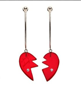 Premium-Bandai-Limited-JoJo-039-s-Bizarre-Adventure-Polnareff-Heart-Earrings-japan