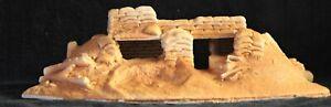 9801UP-WW1-WW2-Foward-Bunker-54mm-Unpainted