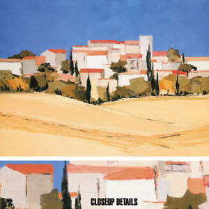 Details About 40w X30h Paysage Urbain By Marcel Demagny Bold Landscape Choices Of Canvas