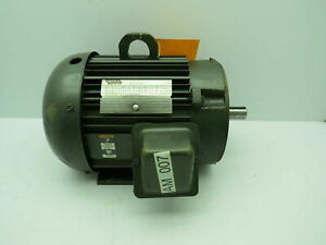 Lincoln-AF4P5TC61-Electric-Motor-5-HP-230-460-1755-RPM-208-415-1420-RPM-184TC