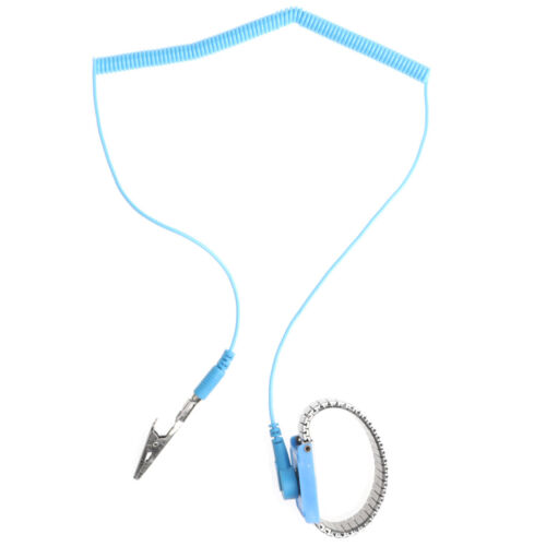 Elektriker Antistatisch ESD Handgelenkband Entladungsband mit 2,4 m Erdungskabel