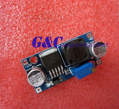 2pcs DC-DC Adjustable Step-up Power Converter Module XL6009  M17