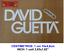 DJ DAVID GUETTA MUSIC VINILO PEGATINA VINYL STICKER DECAL AUFKLEBER AUTOCOLLANT