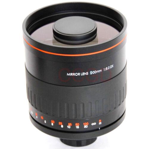 JINTU 900mm f//8.0 Telephoto Mirror Lens T2 Adapter for NIKON Digital SLR Camera