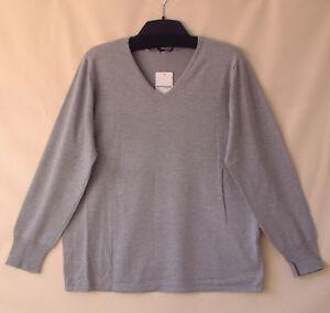 Samoon Basic-Top mit V-Ausschnitt by Gerry Weber Neu Shirt rosa Damen Gr.