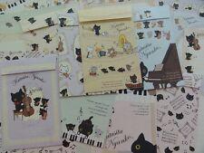 Cat San-X Kutusita Nyanko Letter Set paper envelope kawaii music stationery