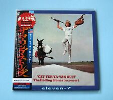 ROLLING STONES Get Yer Ya-Ya's Out ! Japan mini LP CD  brand new & still sealed