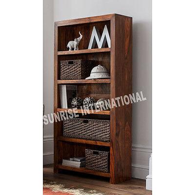 Mandira Range - Wood Wooden Book Shelves / Bookcase / Display Shelf Cabinet Rack
