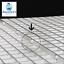 Grid-Divider-Tray-Egg-Crate-Aquarium-Fish-Tank-Filter-Bottom-Isolate-WHITE-X-2 thumbnail 2