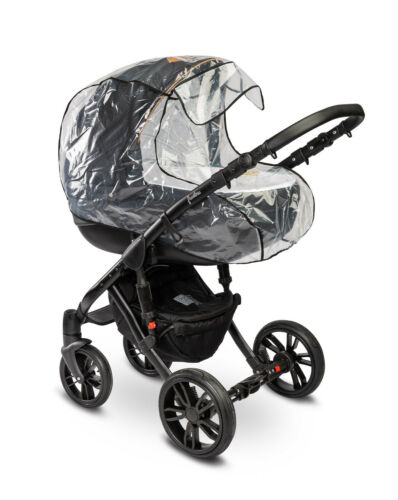 Universal Rain Cover Carry Cot Bassinet Pram Transparent Vent Baby Fast Delivery