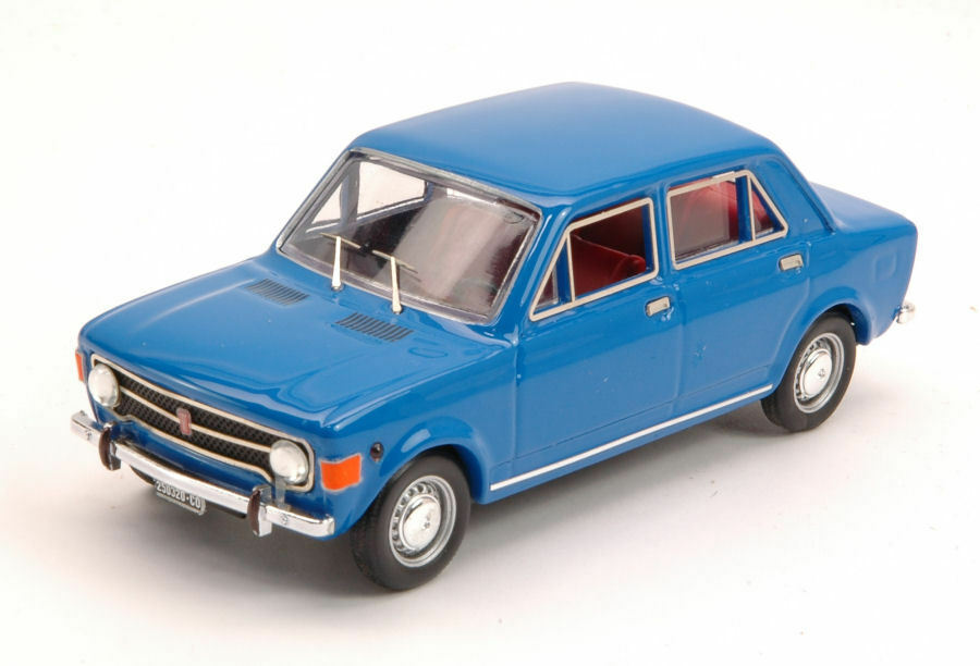 FIAT 128 4 Doors 1969 bleu Cannes 1 43 MODEL rio4460 rio