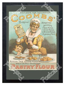Historic-Coombs-Pastry-flour-1890s-Advertising-Postcard-1