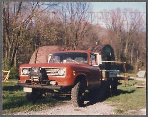 Details about Vintage Photo 1974 International 4x4 Truck 736361