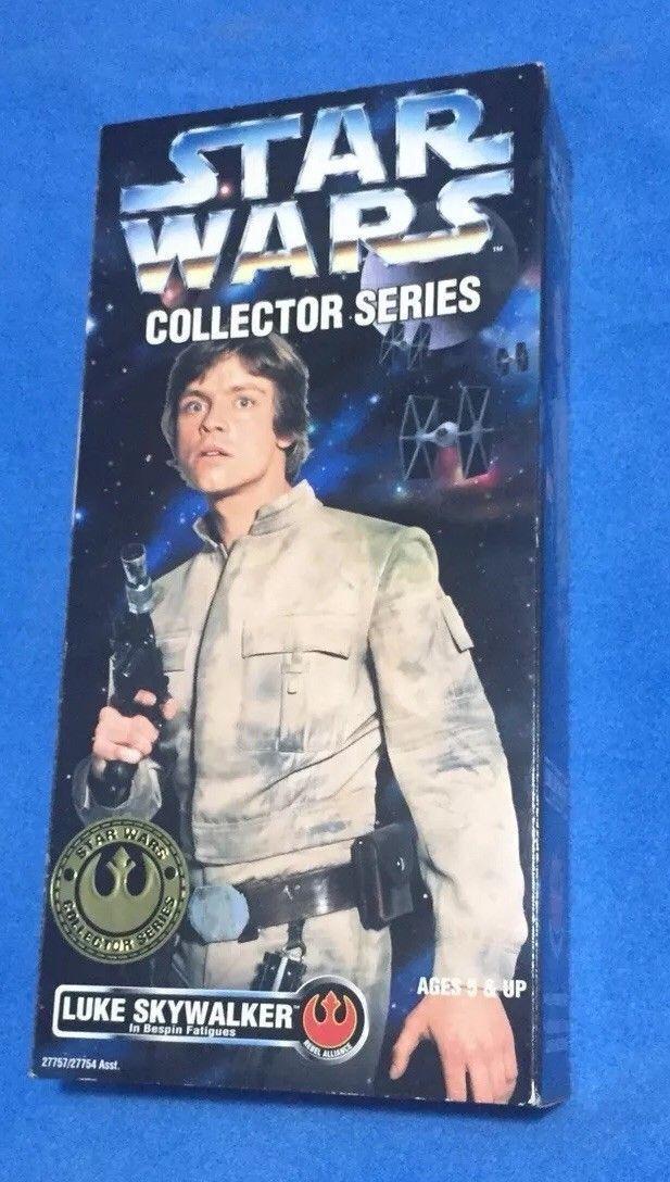 Stern Wars Luke Skywalker Collector serie 12'' figure Brand New