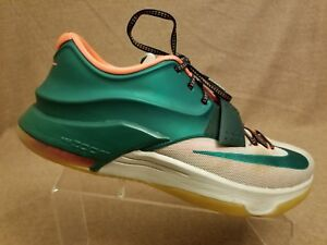 c756ca2ae82 Nike KD VII 7 Kevin Durant  Easy Money  653996-330 Mystic Green ...