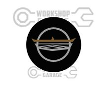 Ford Falcon GT - Steering Wheel Hub Badge Decal  - Stickers