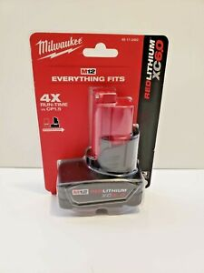 Milwaukee-48-11-2460-M12-12-Volt-6-0-Amp-Lithium-Ion-Cordless-Battery-Pack