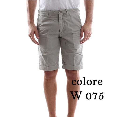 Bermuda uomo SERGENT BE 525 40WEFT shorts grigio pantaloncino 44  52 58