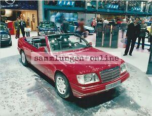 MERCEDES-E-200-Cabrio-Automobilausstellung-Auto-Automobil-Foto-Fotografie-Photo