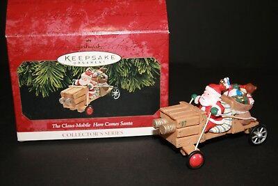 HALLMARK Keepsake 1997 THE CLAUS MOBILE Here Comes Santa ...