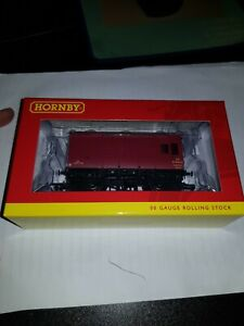OO gauge Hornby R6728A LMS Horse Box 'M42253M' Wagon boxed