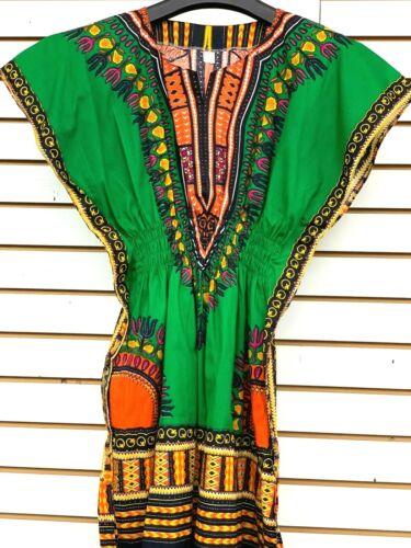 Dashiki Girl Shirt African Design Teen Ager  One Size