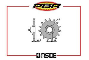 PBR-595-PIGNONE-TRASMISSIONE-15-DENTI-PASSO-415-APRILIA-ETX-TUAREG-50-1990