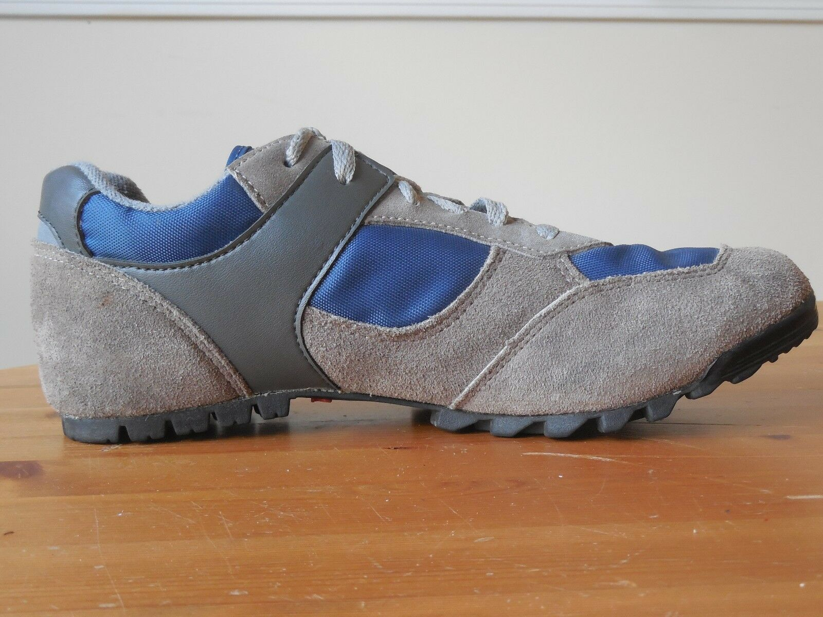Specialized Casual Lace Up Riding Cycling Schuhes Suede and Nylon Größe 40