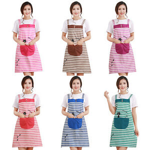 Image Is Loading New Cute Home Womens Kitchen Restaurant Bib Cooking