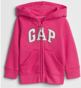 Baby GAP Red Zip-Up Logo Hoodie W// Matching Pants FREE SHIPPING NWT