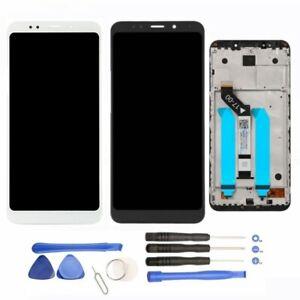 Pantalla-Completa-LCD-Tactil-para-Xiaomi-Redmi-5-Plus-CON-MARCO-Negra-Blanca