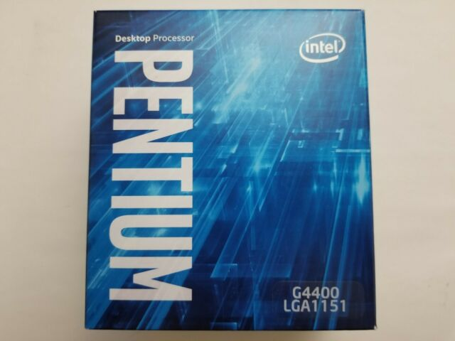 Intel Pentium G4400 3.30GHz Dual-Core LGA 1151 Processor Stock Cooler Open Box