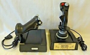 THRUSTMASTER HOTAS COUGAR PC F-16 CONTROLLER - THROTTLE JOYSTICK AIRCRAFT...