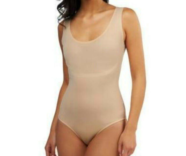 Spanx Trust Your Thinstincts BodySuit~LARGE~NUDE~A223924~#1812~NO SIZE TAG