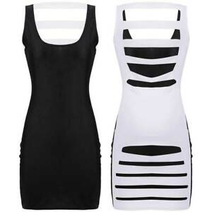 CHEAP-Sexy-Women-Summer-Hollow-Bodycon-Short-Mini-Dresses-Clubwear-Party-Dress