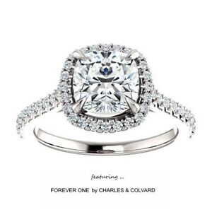 2-20-Carat-Cushion-Moissanite-ForeverOne-DEF-Halo-Style-Ring-in-14K-Gold