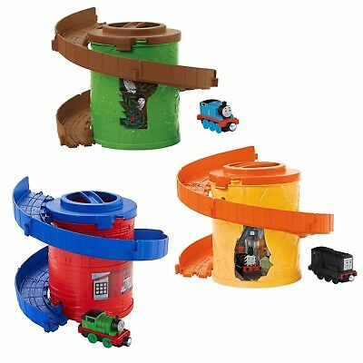 NEW Thomas /& Friends Spiral Tower Track with Thomas or Percy or Diesel