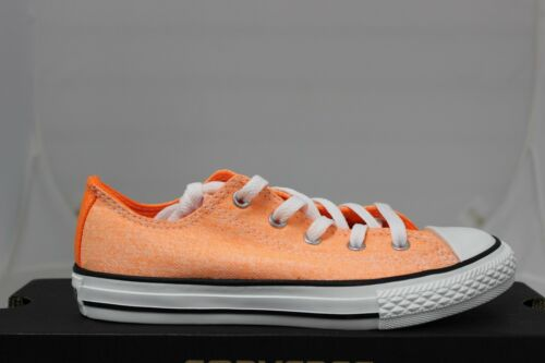 Converse Chuck Taylor Youth Neon Orange 336623F Brand New In Box