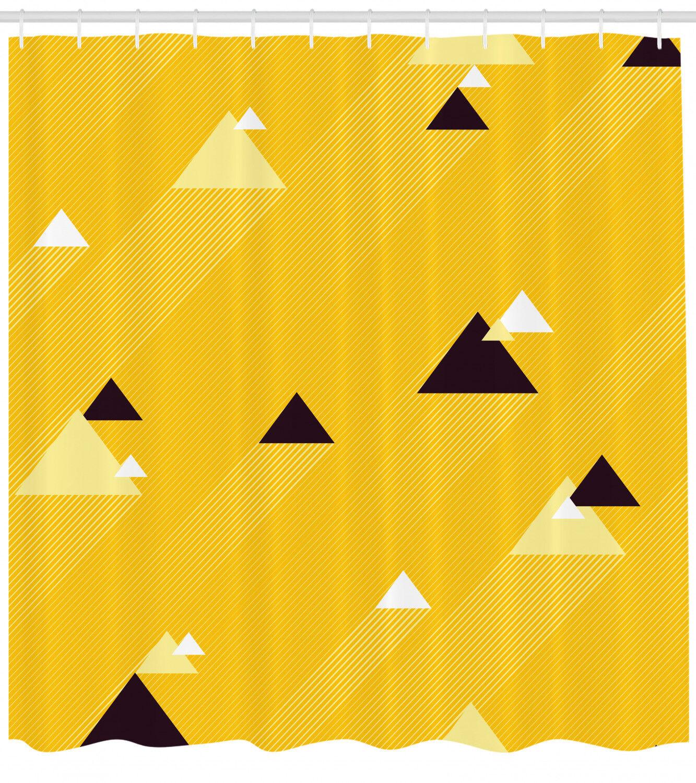 Vintage Gelb Shower Curtain Fabric Fabric Fabric Bathroom Decor Set with Hooks 4 Größes c99c22