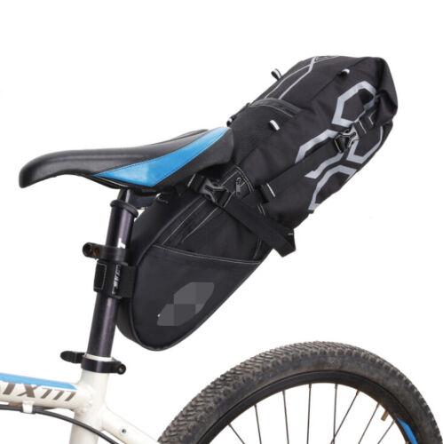12L Große Kapazität Wasserfest Fahrradtasche Radfahren Satteltasche Tasche DE