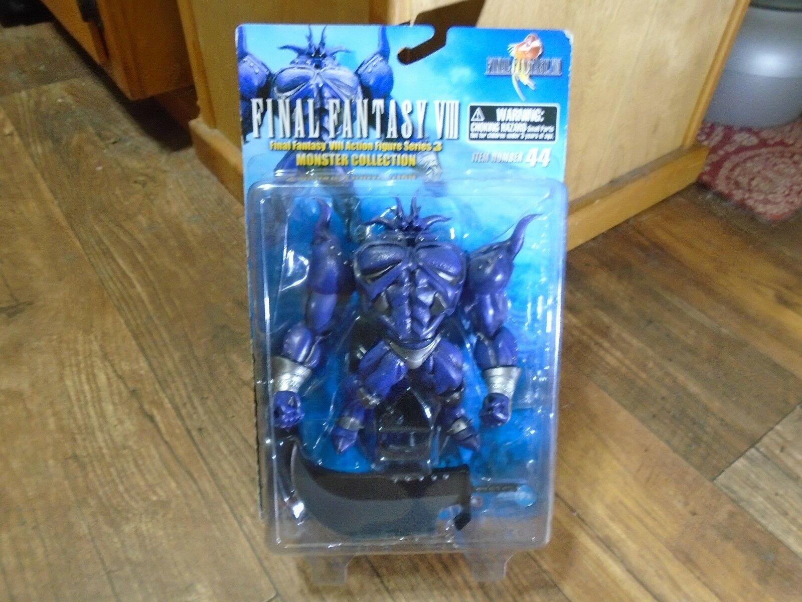 2000 PALISADES--FINAL FANTASY VIII--6  IRON GIANT FIGURE (NEW)
