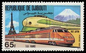 DJIBOUTI 527 (Mi302) - French TGV and Japanese 962 Locomotives (pa52053)